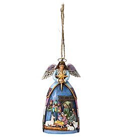 Heartwood Creek by Jim Shore Nativity Angel Ornament