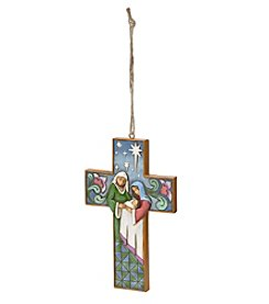 Heartwood Creek by Jim Shore Holy Family Cross Ornament