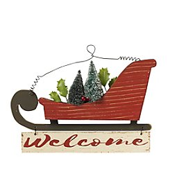 Living Quarters Sleigh Welcome Sign
