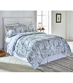 Living Quarters Woodland Trail Reversible Microfiber Down-Alternative Comforter