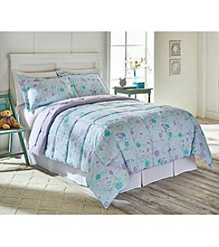 Living Quarters Lauren Birds Reversible Microfiber Down-Alternative Comforter