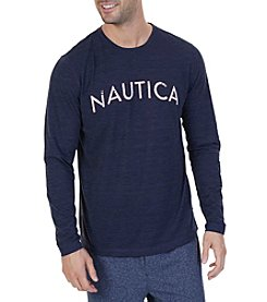 Nautica Men's Long Sleeve Graphic Tee