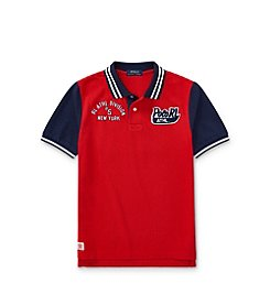 Polo Ralph Lauren® Boys 2T-20 Mesh Polo Shirt