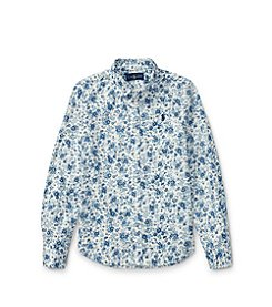 Polo Ralph Lauren® Girls' 7-16 Floral Button Down Shirt