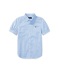Polo Ralph Lauren® Girls 2T-16 Oxford Shirt
