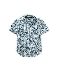 Polo Ralph Lauren® Girls' 2T-6X Floral Button Down Shirt