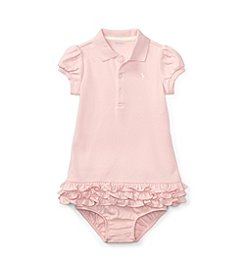 Polo Ralph Lauren® Baby Girls' 9M-24M Cupcake Dress