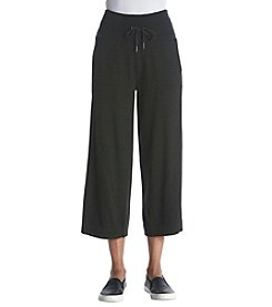 Calvin Klein Performance High Waist Wide Leg Crop Pants