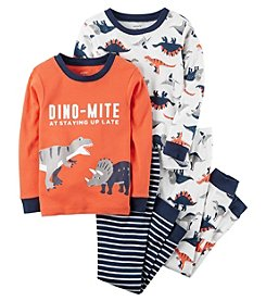 Carter's Baby Boys' 12M-24M 4 Piece Dino-Mite Snug Fit Cotton PJs