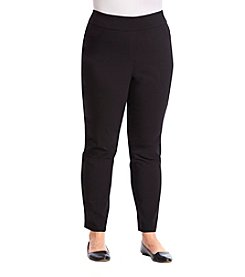 Studio Works® Plus Size Faux Fly Pants