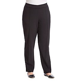 Studio Works® Plus Size Piping Dress Pants