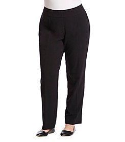 Briggs New York Plus Size Pull-On Dress Pant