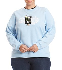 Breckenridge® Plus Size First Chickadee Sweatshirt