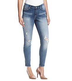 Nine West Destructed Detail Skinny Jeans
