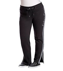 Calvin Klein Plus Size Performance Logo Pants