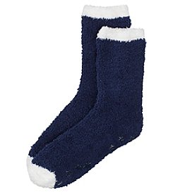 KN Karen Neuburger Star Grip Knit Socks