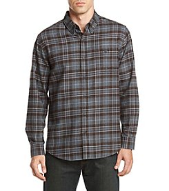 Weatherproof Vintage® Plaid One Pocket Flannel Shirt