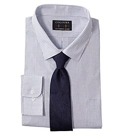 Alexander Julian Dress Shirt And Tie Set