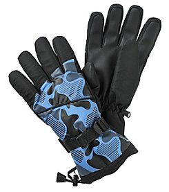 Statements Boys' 4-20 Camo Print Gloves