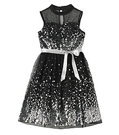 Speechless Girls' 7-16 Sparkle Dress