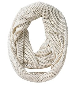 Steve Madden Mini Fishnet Loop Scarf