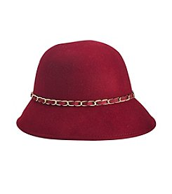 August Hats Ribbons & Chains Cloche