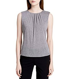 Calvin Klein Cami With Pleated Neckline