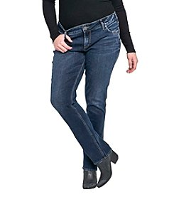 Silver Jeans Co. Plus Size Elyse Straight Leg Jeans