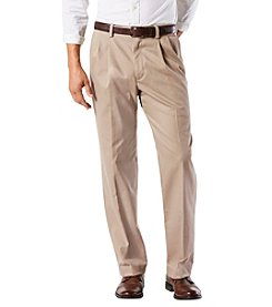 Dockers Easy Khaki Stretch Classic Pleated Pants