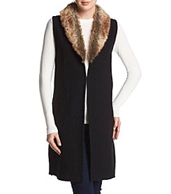 Nine West® Fur Trimmed Vest