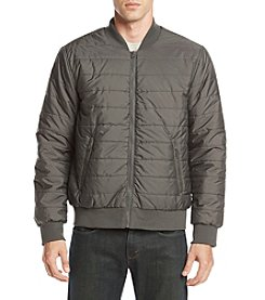 John Bartlett Consensus Men's Quilted Bomber Jacket