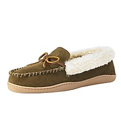 Clarks Fur Moccasin Slippers