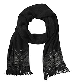 Calvin Klein Ombre Crystal Stud Muffler Scarf