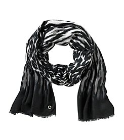 Calvin Klein Watercolor Stripe Scarf