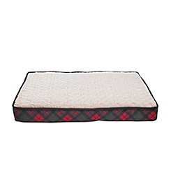 Closeout! John Bartlett Pet Plaid Holiday Bed