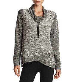 Calvin Klein Performance Crossover Cowl Neck Pullover