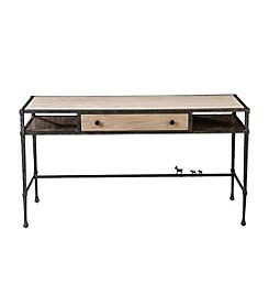 ED™ Ellen DeGeneres Crafted by Thomasville® Bonnabel Metal and Stone Desk