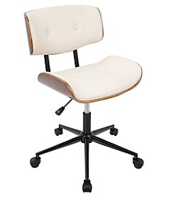 LumiSource® Lombardi Adjustable Swivel Office Chair