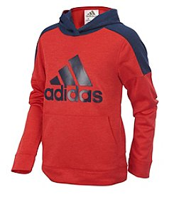 adidas® Boys' 2T-7X Long Sleeve Indicator Pullover Hoodie