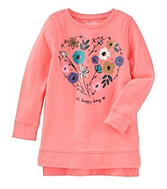 OshKosh B'Gosh® Girls' 2T-4T High-Low Sweatshirt Tunic