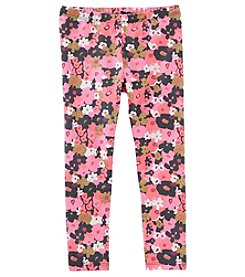 OshKosh B'Gosh® Girls' 2T-4T Floral Leggings