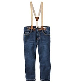 OshKosh B'Gosh® Girls' 2T-4T Suspender Jeans