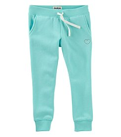 OshKosh B'Gosh® Girls' 4-8 Logo Pants