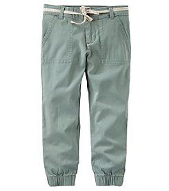 OshKosh B'Gosh® Girls' 4-8 Chino Jogger Pants