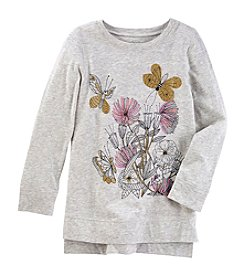 OshKosh B'Gosh® Girls' 4-8 High-Low Sweatshirt Tunic