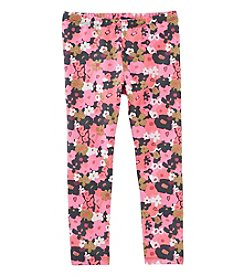 OshKosh B'Gosh® Girls' 4-8 Floral Leggings
