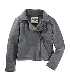 OshKosh B'Gosh® Girls' 4-8 Moto Jacket