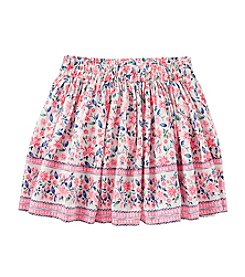 OshKosh B'Gosh® Girls' 4-8 Floral Skirt