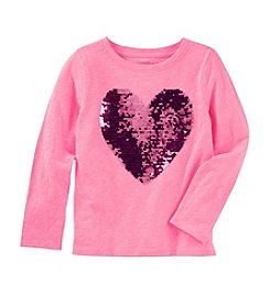 OshKosh B'Gosh® Girls' 4-8 Sequin Heart Tunic