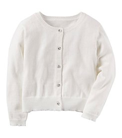 Carter's Girls' 2T-8 Holiday Cardigan